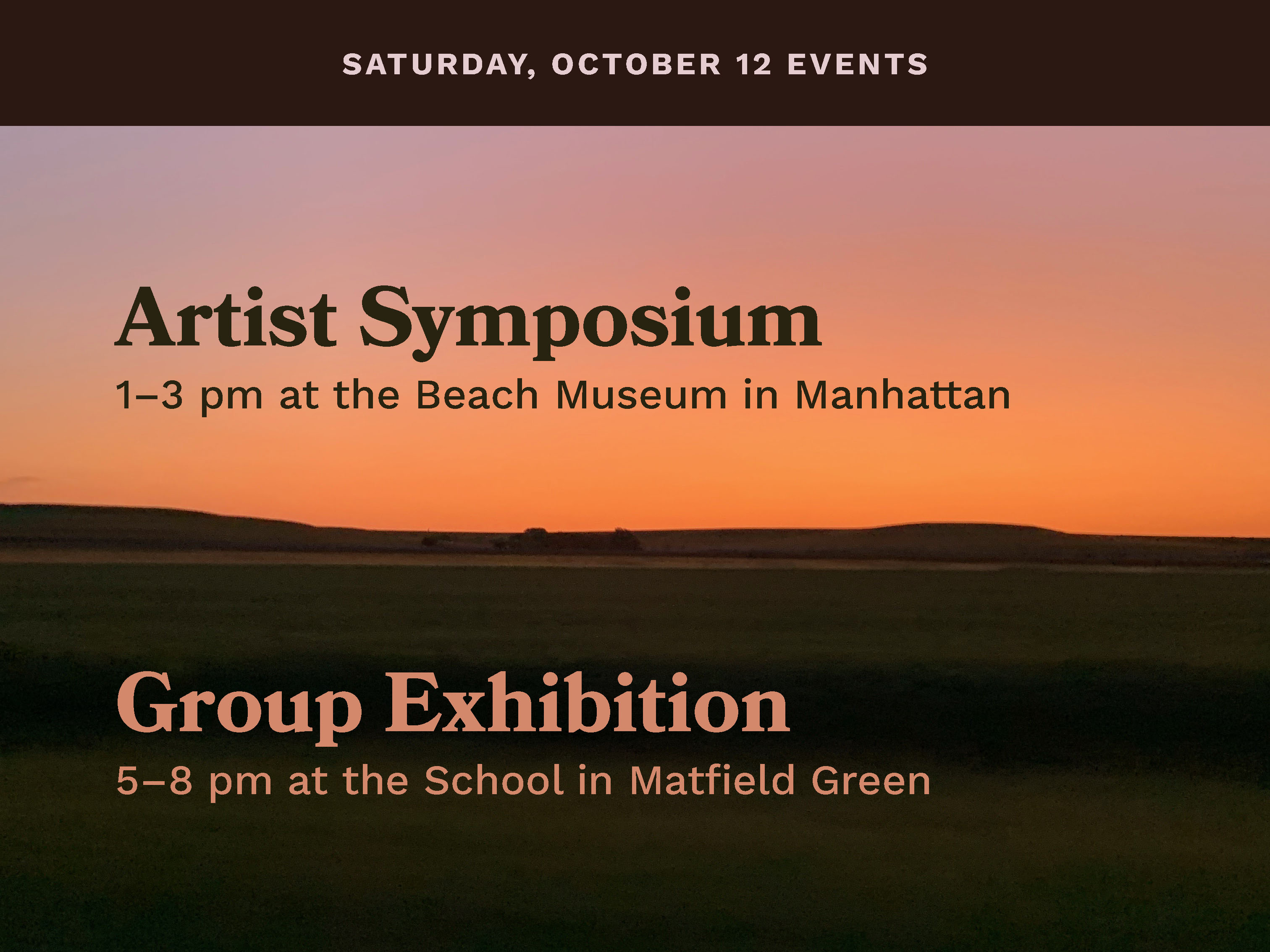 2019 Symposium and Group Show